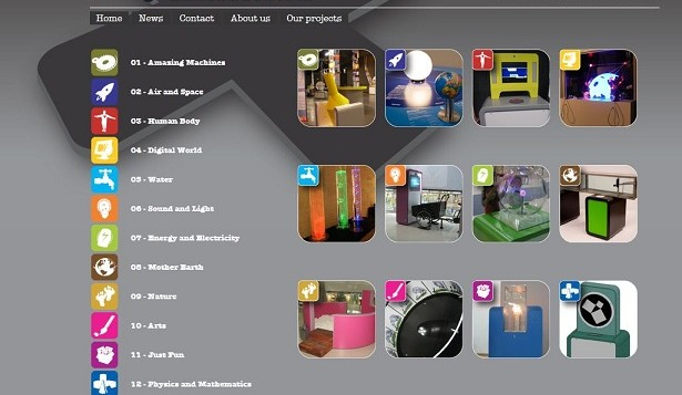 Exhibits.nl screenshot