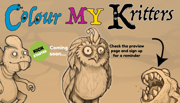 Colour MY Kritters is a family card game (for 2-6 kids 6 years and up) that plays in around half an hour.